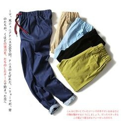 Blueforce - Drawstring Straight Leg Pants