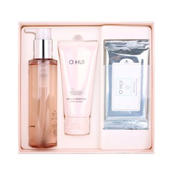 O HUI - Miracle Moisture Cleansing Oil Set : Oil 150ml + Foam 80ml + Cleansing Sheet 2packs