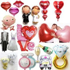 With Love - Microfoil Balloon Party Decoration