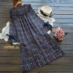 YOYO - Floral Chiffon Dress