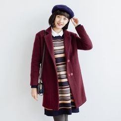 Forest Girl - Notch Lapel Coat