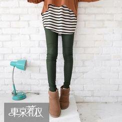Tokyo Fashion - Drawstring Cotton Sweatpants