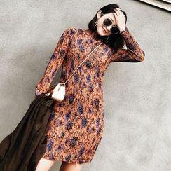 Jack Grace - Long-Sleeve Floral Dress