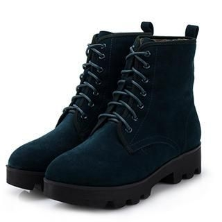 Exull - Lace-Up Ankle Boots