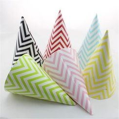 Palmy Parties - Set of 12: Print Party Hat
