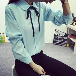 Cloud Nine - 娃娃领衬衫