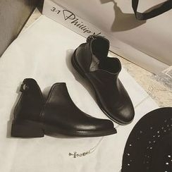 QQ Trend - 人造皮及踝靴