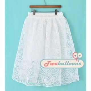 JVL - Organza Midi Skirt