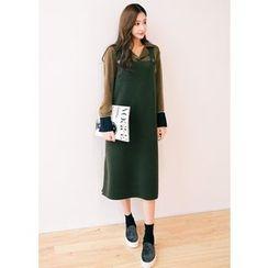 J-ANN - Sleeveless Shift Dress