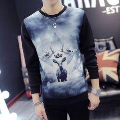 Cipher - 鹿印花套衫