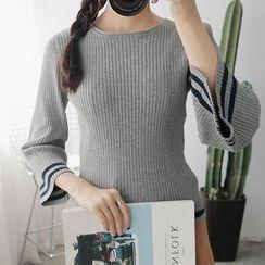 Meimei - 條紋毛衣