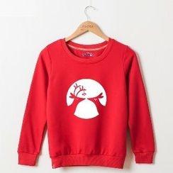 Onoza - Reindeer-Print Pullover