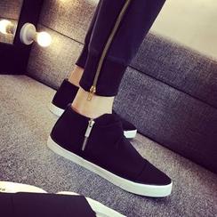 Solejoy - 拉链踝靴