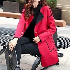 Romantica - Piped Button Coat