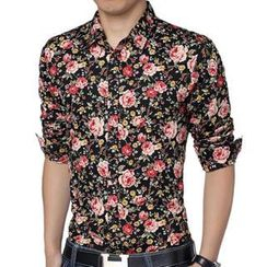 Gurun Vani - Floral Long-Sleeve Shirt