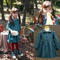 Lullaby - Kids Embroidered Denim Dress