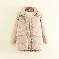 Mushi - Floral Padded Coat