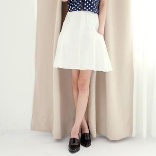 Tokyo Fashion - High-Waist A-Line Skirt