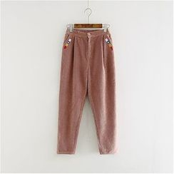 Storyland - Corduroy Straight-Leg Pants