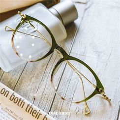 Lose Show - Metal Arm Square Glasses