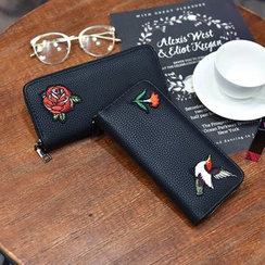 Ginadore - Embroidery Long Wallet