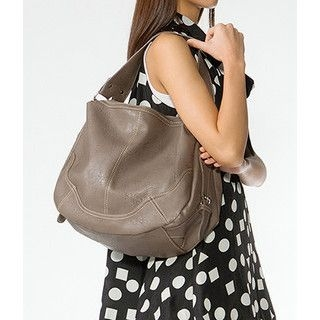 yeswalker - Double-Zip Hobo Bag