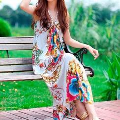 Everose - 印花吊带裙