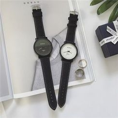 JUN.LEE - Couple Matching Strap Watch