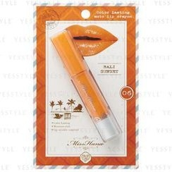 Miss Hana - Color Lasting Auto Lip Crayon (#06 Bali Sunset)