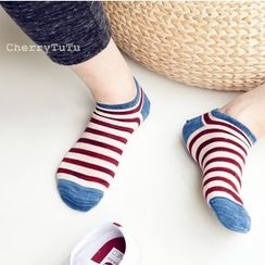 CherryTuTu - Stripe Low Socks