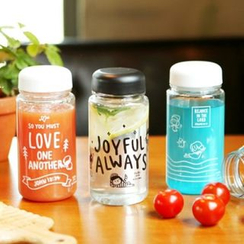 iswas - 'Gracebell' Series Lettering Water Bottle