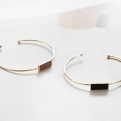 NIPONJJUYA - Bar Slim Metal Open Bangle