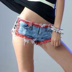 MATITA - Denim Hot Pants