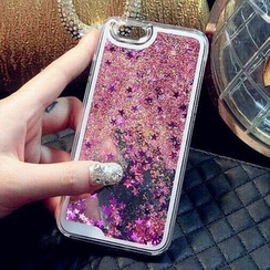 Kerodine - Glitter iPhone 6 / 6S / 6 Plus / 6S Plus / 5 / 5S / 7 / 7 Plus / 4 / 4S / Note 4 / Note 5 / S4 / S5 / S6 / S6 edge / S6 edge plus / Note 2 / Note 3 Case