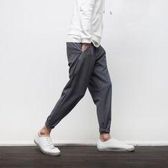 YIDESIMPLE - 修身九分西裝褲