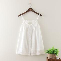 Aigan - Lace-Trim Camisole Top