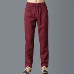 Sparrow Farm - 束腰直筒長褲