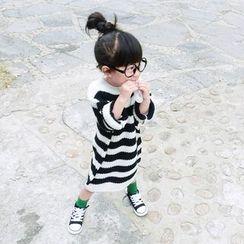 CUBS - Kids Striped Knit Dress