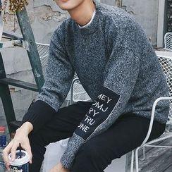 ZZP HOMME - Lettering Sweater