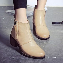 Max Dash - Block Heel Ankle Boots