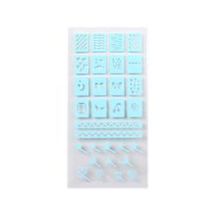 Innisfree - Self Nail Sticker - Stencil 1ea