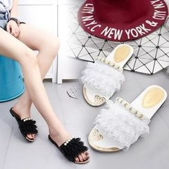 Sunsteps - Lace Slide Sandals