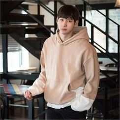 STYLEMAN - Fleece-Lined Color-Block Hoodie
