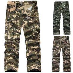 Constein - Camo Cargo Pants