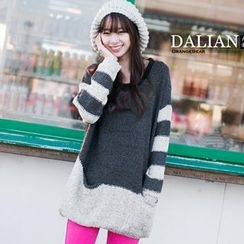 OrangeBear - Contrast-Color Sweater