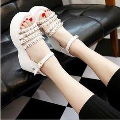 BAYO - 厚底帶式涼鞋