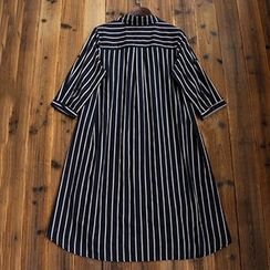 tete - Stripe Long Shirt