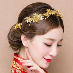 Suaylla - Bridal Flower Headband