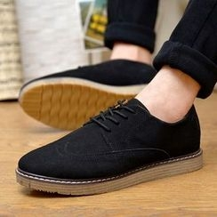 Chariot - Lace-Up Casual Shoes