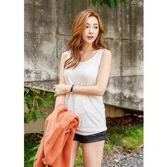 J-ANN - Cotton Blend Tank Top